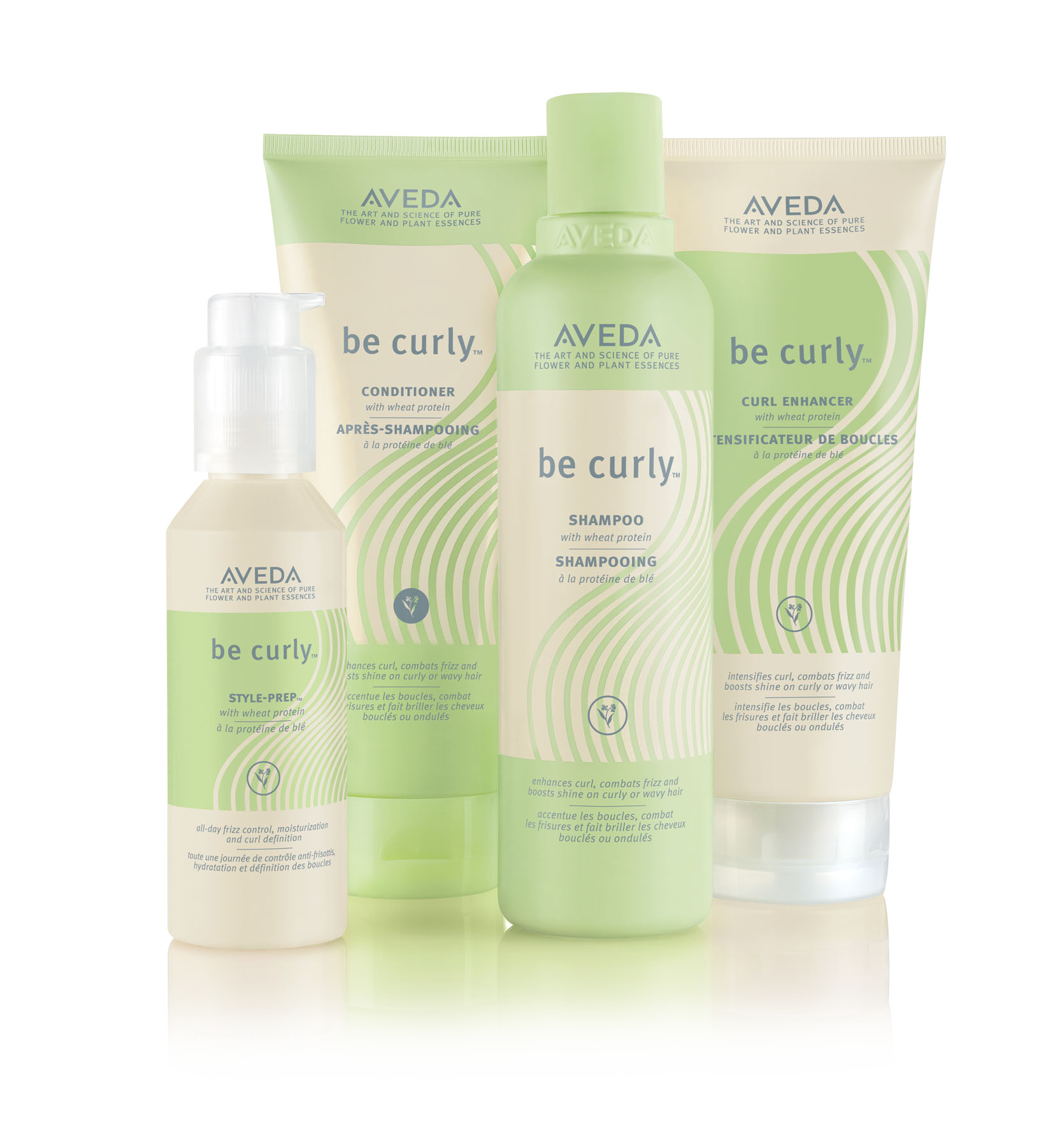 Aveda be curly™ @ IINN Sustainable Beauty EN