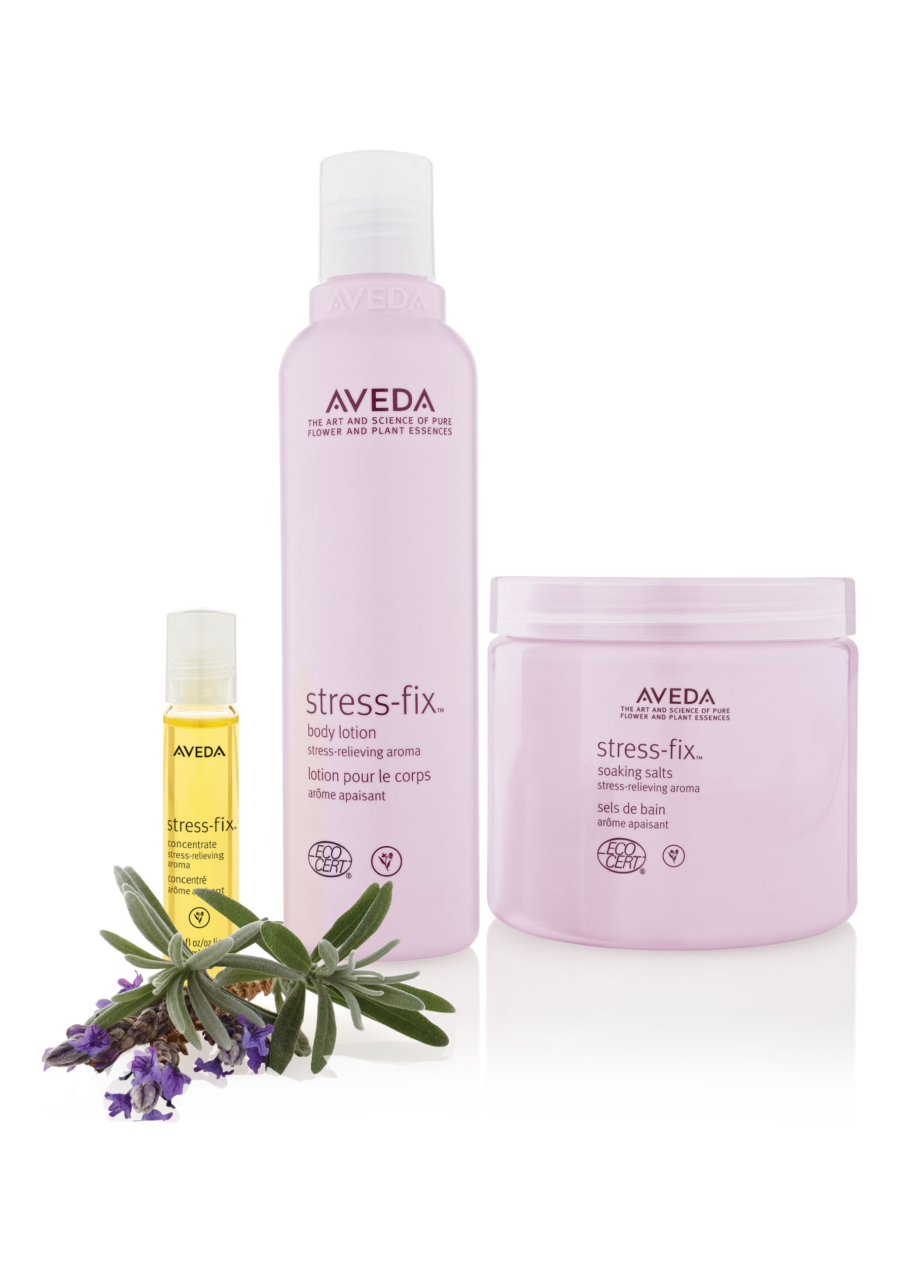 Aveda stress-fix™ @ IINN Sustainable Beauty