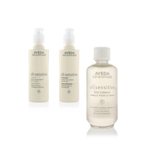 Aveda all-sensitive™ @ IINN Sustainable Beauty