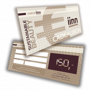 iinn — sustainable beauty cadeaucheque t.w.v. € 150.-