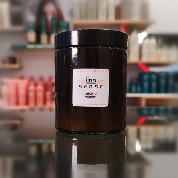 iinn sense — Orchid Amber — vegan geurkaarsen — 100% natuurlijke ingrediënten